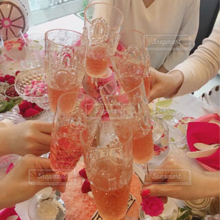 女子会で乾杯♡の写真・画像素材[4277580]