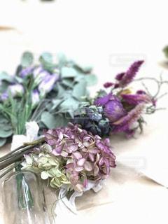 花,フラワー,紫,ドライフラワー,フラワーアレンジ,オトナ