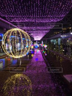 夜景,綺麗,景色,街,イルミネーション,クリスマス