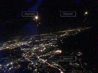夜空の花火の写真・画像素材[1683375]