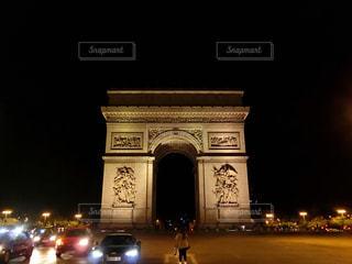 夜景,海外,旅行,凱旋門,フランス,パリ,シャンゼリゼ,インスタ映え
