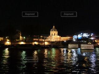 夜景,海外,ライトアップ,旅行,フランス,パリ,セーヌ川,インスタ映え