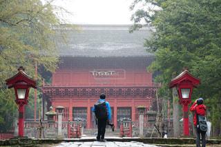 風景,神社,後ろ姿,岩木山神社