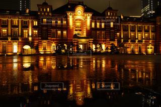 夜の街の眺めの写真・画像素材[2219405]