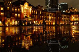 夜の都市の写真・画像素材[2219417]
