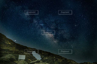 青い空の人の写真・画像素材[3396743]