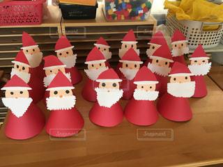 冬,クリスマス,保育園,サンタ帽