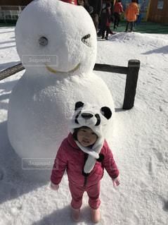 雪遊びの写真・画像素材[1815590]