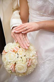 フラワー,手,結婚式,オシャレ,ラブラブ