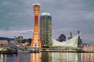 神戸ポートタワーの写真・画像素材[938598]