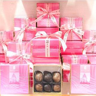 スイーツ,ピンク,リボン,チョコレート,バレンタイン,チョコ,Sweets,pink