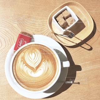 一杯のコーヒーの写真・画像素材[1037034]