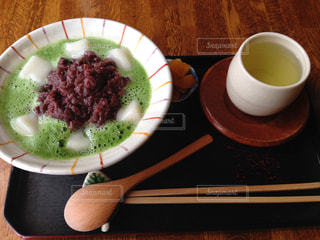 スイーツ,抹茶,あずき,和,ぜんざい,スウィーツ,緑茶,白玉,小豆,煎茶