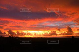 燃える空の写真・画像素材[962111]