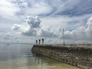 peace over the seaの写真・画像素材[1321174]