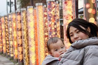 京都,親子,赤ちゃん,抱っこ,ママ,娘,母娘,お母さん,おかあさん,抱っこ紐