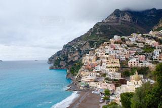 風景,夜景,海外,景色,観光,旅行,イタリア,地中海,海外旅行,南イタリア,アマルフィ海岸,ポジターノ
