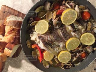 食品のボウルの写真・画像素材[1715719]