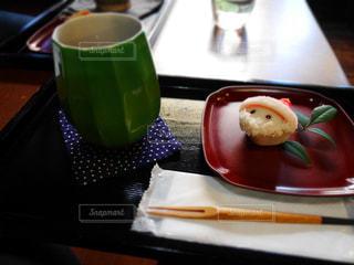 スイーツ,冬,和菓子,クリスマス,お茶,和,練り切り