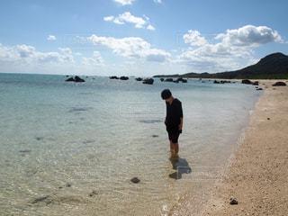 石垣島のビーチの写真・画像素材[1387996]