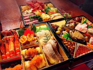 食べ物,おせち,正月,テーブルフォト