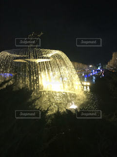 噴水の写真・画像素材[1680446]