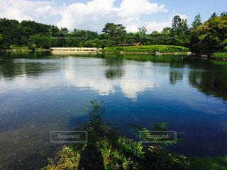 風景,空,公園,屋外,水面,池,日本庭園,昭和記念公園,立川
