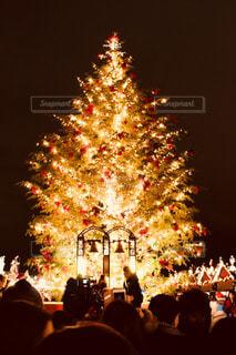 冬,夜景,群衆,屋外,イルミネーション,人物,人,イベント,クリスマス,人混み,クリスマスツリー,クリスマスマーケット,12月