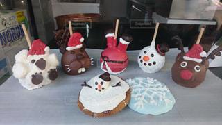 冬,おやつ,クリスマス,雪だるま,サンタ,winter,トナカイ,Christmas,candy
