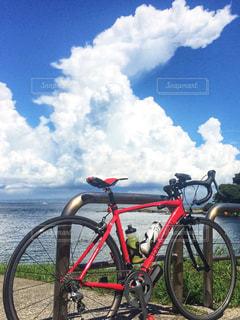 夏の三浦半島の休日サイクリング編の写真・画像素材[985954]
