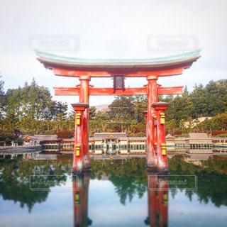 厳島神社(東武ワールドスクウェア)の写真・画像素材[956235]