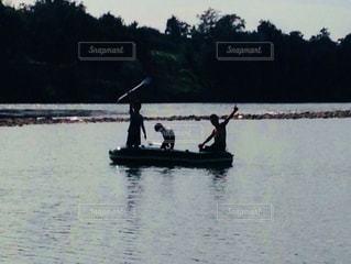 自然,風景,ボート,親子,川,神秘的,遊び,兄弟,息子,父,子,流れ,川下り,利根川