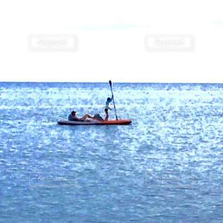 自然,アウトドア,海,空,ボート,親子,カヌー,水面,リラックス,遊び,カヤック,休日,blue,離島,地球,シーカヤック