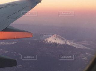 富士山,飛行機,お出かけ
