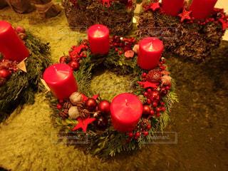 ドイツ,クリスマスマーケット,キャンドルリース,シュトゥットガルト