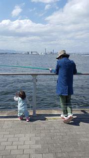 親子,子供,釣り,父,子,娘,お父さん