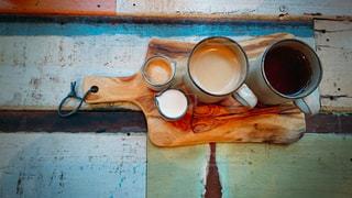 寒い冬にあったかいホットコーヒーの写真・画像素材[956334]