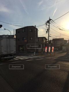 道路側の交通信号の写真・画像素材[956496]