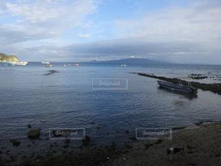 水域のボートの写真・画像素材[2379903]