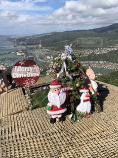 自然,空,屋外,山,登山,クリスマス,サンタ,ハワイ
