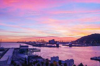 ピンク色の景色の写真・画像素材[1796544]