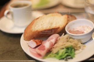 喫茶店でのモーニングの写真・画像素材[1157688]