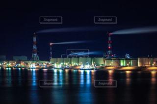 夜の街の写真・画像素材[1240755]