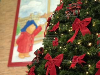 クリスマス,ツリー,くま,パディントン