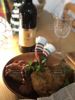 クリスマス,ワイン,チキン,クリスマス料理,素敵な思い出,旦那様主催,自宅でクリスマスパーティー