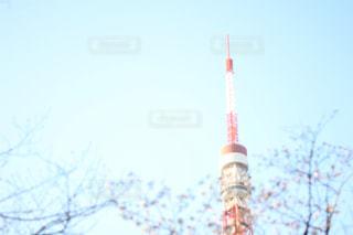 近くに街灯柱のアップ - No.1118549