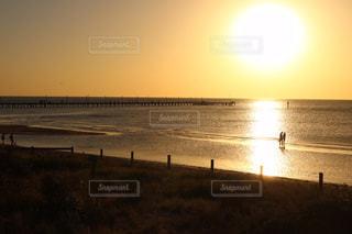 自然,風景,海,空,屋外,海外,砂,ビーチ,砂浜,夕暮れ,水面,海岸,旅行,オーストラリア,インスタ,インスタ映え