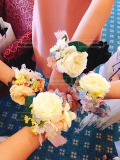 花,結婚式,フラワーアレンジ,リストブーケ