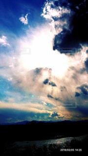 アウトドア,空,雲,川,夕方,休日,荒川