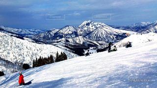 アウトドア,空,冬,雪,雲,山,スキー,休日,スノーボード
